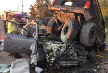 Photo of Fallece en espantoso accidente automovilístico
