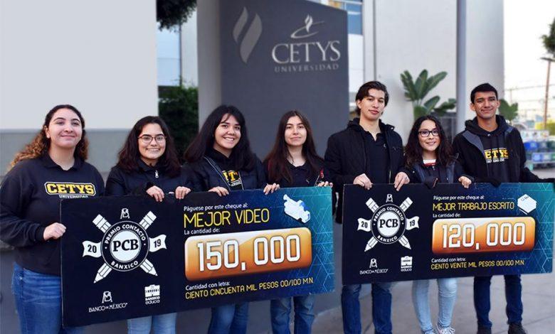 Photo of Estudiantes de CETYS ganan concurso de Banco de México