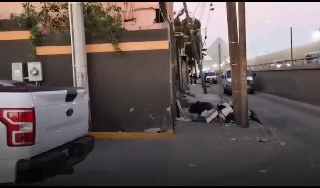 Dejan entambado en Tijuana