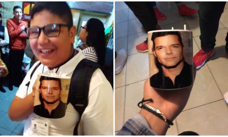 Photo of Recibe de intercambio taza de Ricky Martin, el pidió de Rick y Morty
