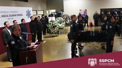 Photo of Realizan honras fúnebres a Oficial Israel Meza