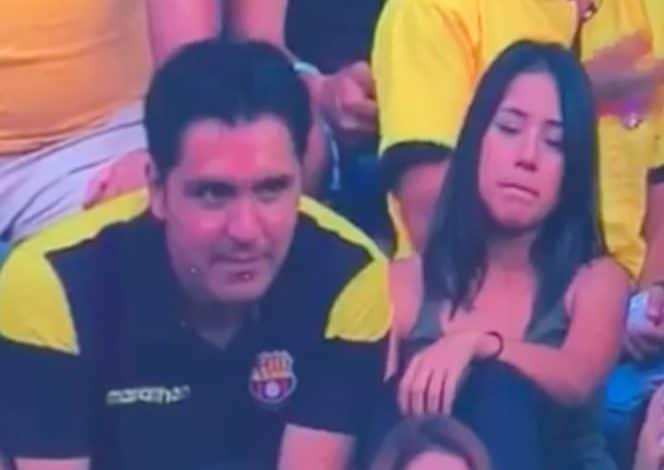 Photo of Kiss-cam exhibe a un infiel en estadio