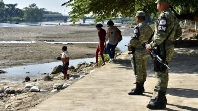Photo of GN e INM vigilan frontera Sur ante posible caravana