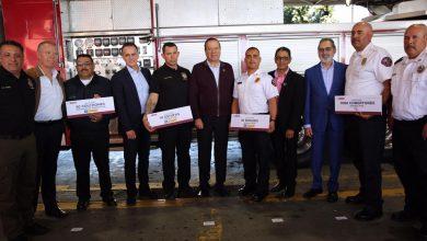Photo of Cuerpo de Bomberos Tijuana recibe donativo