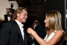 Photo of Así fue el reencuentro de Jennifer Aniston y Brad Pitt