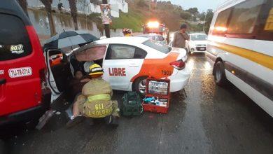 Photo of Choque múltiple deja varios lesionados en Tijuana