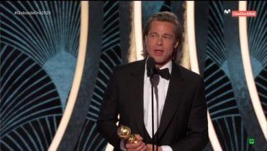 Photo of Cámara capta la cara de Jennifer Aniston cuando Brad Pitt ganó