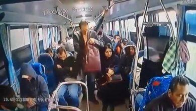 Photo of Hombre de traje asalta camión de pasajeros