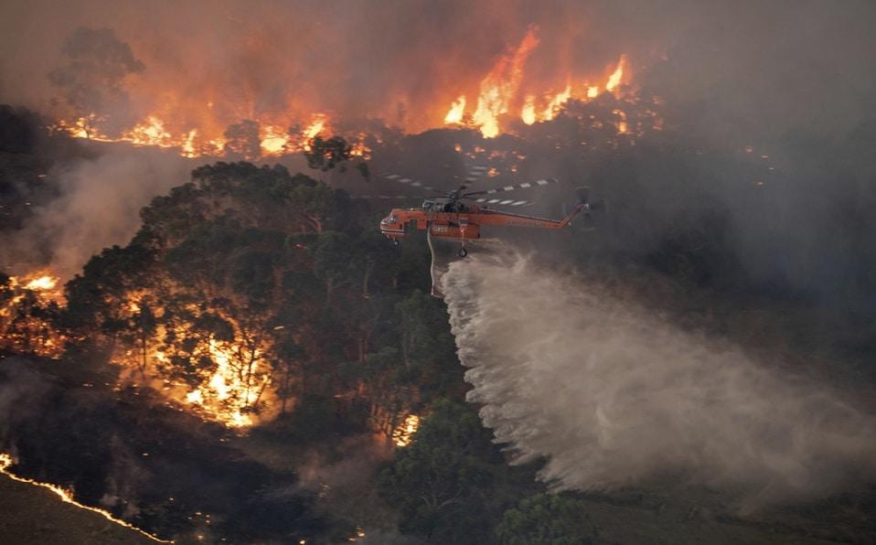 Incendios devastadores en Australia
