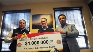 Photo of Grupo Silza dona un millón de pesos a Bomberos Tijuana