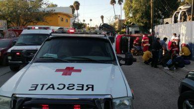 Photo of Chocan camioneta y taxi; hay varios lesionados
