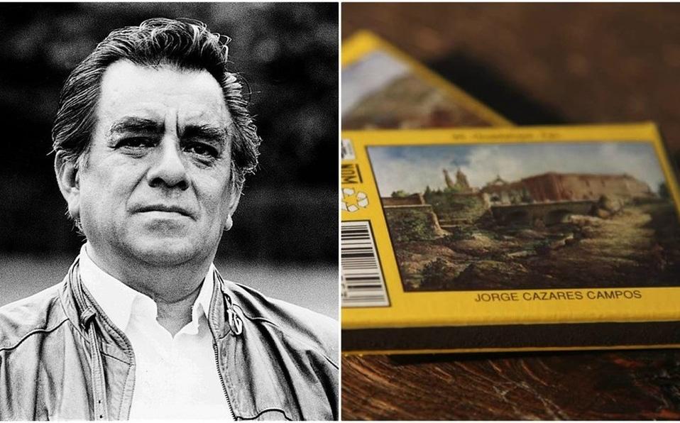 Muere el paisajista Jorge Cázares, su trabajo decoraba cajetillas de cerillos