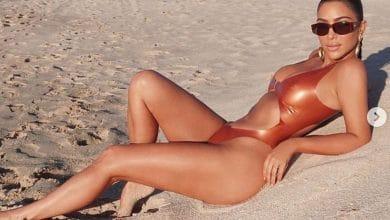 Photo of Kim Kardashian enciende la península de Baja California