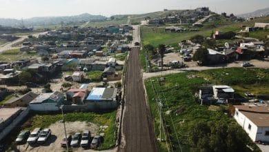 Photo of Colocan material fresado del bulevar El Refugio en Lomas de la Pradera