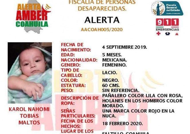 Photo of Localizan cuerpo de bebé arrebatada a su madre