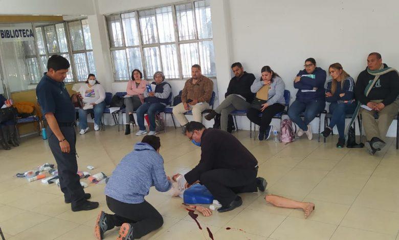 Photo of Docentes obtienen certificación como primer respondiente en emergencias
