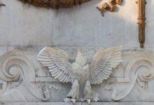 Photo of 'Decapitan' águila de Hemiciclo a Juárez