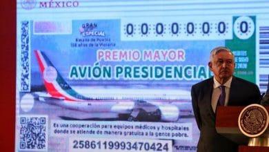Photo of Solo rifarán efectivo, el avión se lo quedan dos años