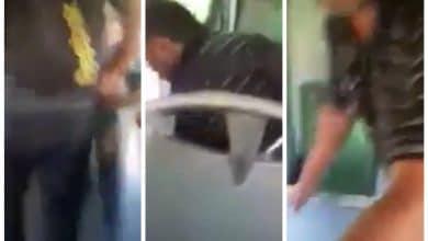 Photo of Sorprenden a pervertido en un camión, lo grabaron en video