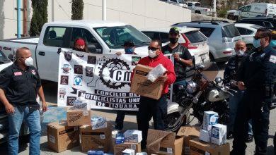 Photo of Motociclistas donan material de protección a paramédicos