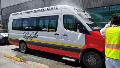Ayuntamiento y sociedad civil higienizan unidades del transporte público