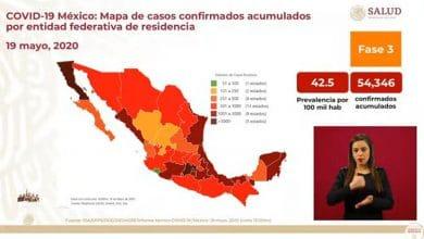 Fallecen más de 300 por Covid-19 en 24 horas en la República Mexicana