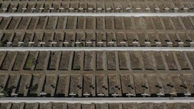 Cementerio prepara miles de tumbas por coronavirus