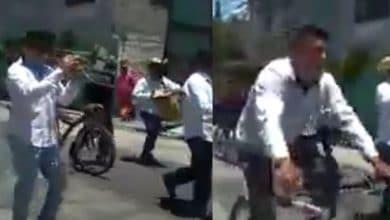 VIDEO: Violan la cuarentena y festejan con banda en vía pública