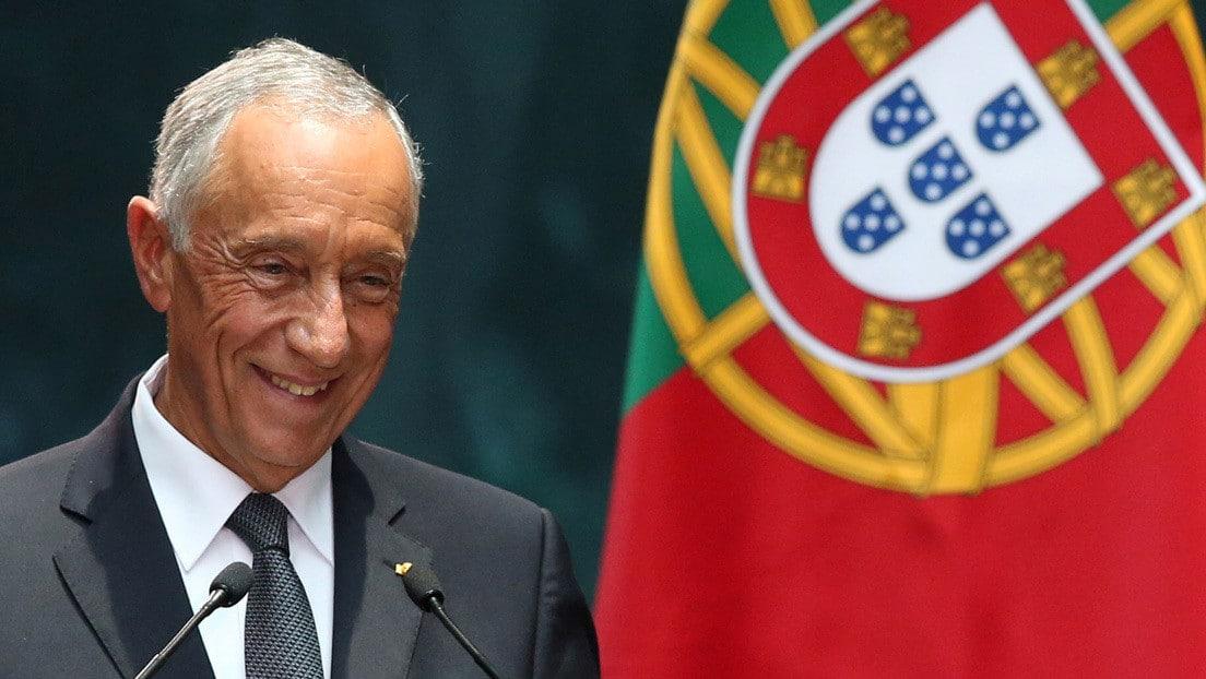 Viralizan foto de presidente de Portugal