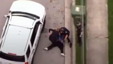 Photo of VIDEO: Policía presiona con su rodilla el cuello de afroamericano