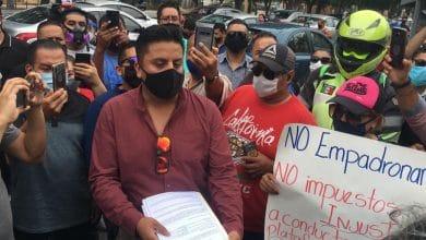 Photo of Conductores de apps se manifiestan contra impuestos 'excesivos'