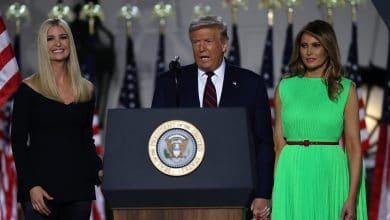 Photo of VIDEO: Arden redes con la mirada de Melania Trump a Ivanka