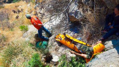 Photo of Rescatan a tres migrantes en La Rumorosa, uno tenía fractura