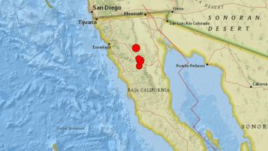 Photo of Varios sismos sacuden  Baja California