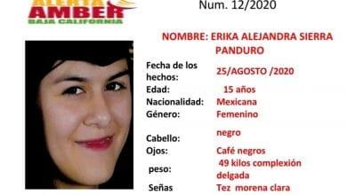 Photo of Activan Alerta Amber en BC; buscan a Erika Alejandra Sierra de 15 años
