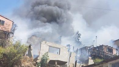 Photo of VIDEO: Fuerte incendio deja sin hogar a varias familias
