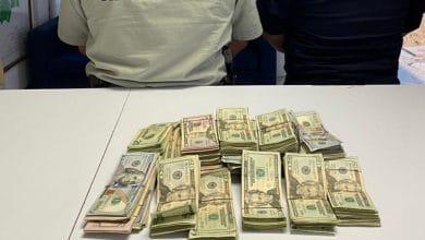 Photo of Detienen a mujer con miles de dólares en puente fronterizo