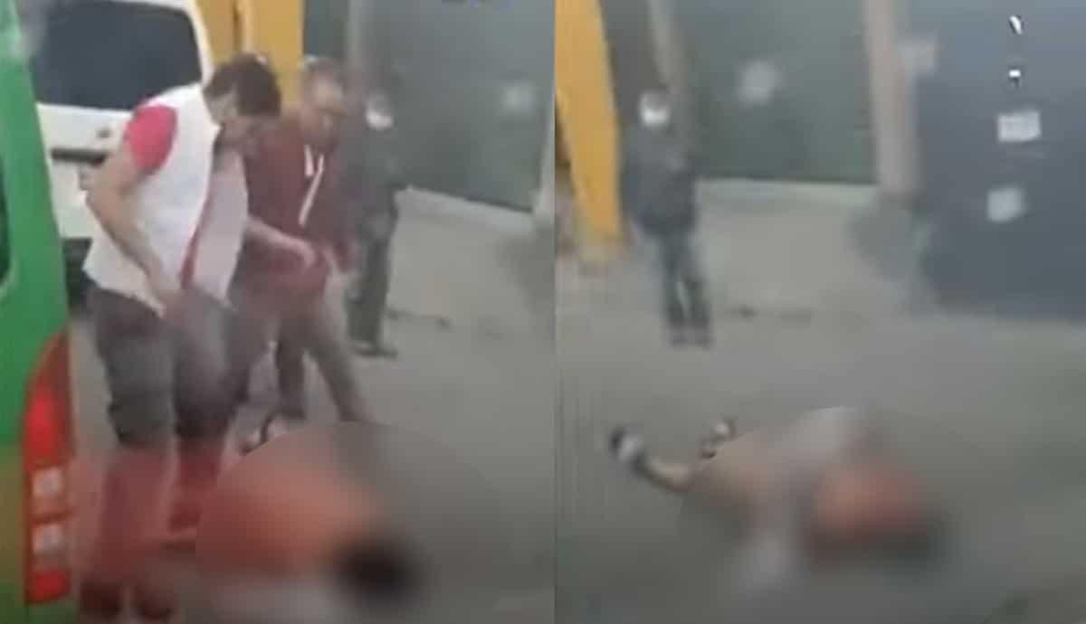 Surge-segunda-parte-del-video-de-asaltante-golpeado-en-camión