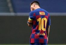 Photo of Messi devastado en el vestidor, la foto viral