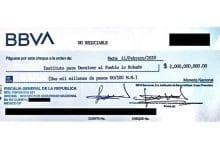 Photo of Sin fondos cheque para pagar premios de la Rifa del Avión