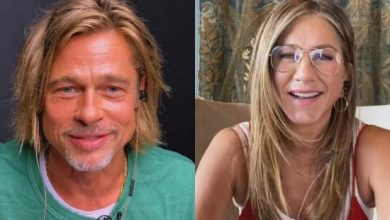 Photo of VIDEO: El saludo entre Aniston y Pitt que se viralizó