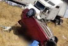 Photo of Fuerte choque entre auto y tráiler deja cuatro muertos