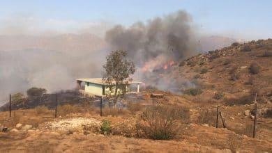 Photo of VIDEO: Incendio de pastizal en inmediaciones de UABC