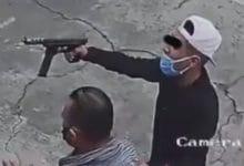 Photo of VIDEO: Roban pick up con metralleta en mano