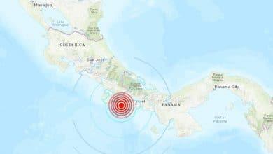Photo of Fuerte sismo remece la frontera entre Panamá y Costa Rica
