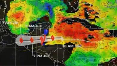 Photo of Seis estados en alerta por tormenta 'Nana'