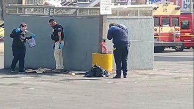 Photo of Abandonan restos humanos fuera de Centro Comercial