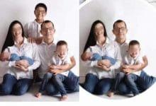Photo of Mujer pide ayuda para quitar a hijastro de foto familiar
