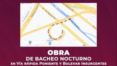 Photo of Suspenderán circulación de gaza de incorporación a Vía Rápida Poniente