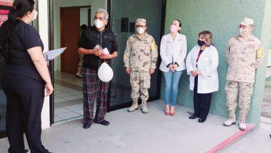 Photo of Dan de alta a pacientes recuperados de covid de la unidad de Sedena